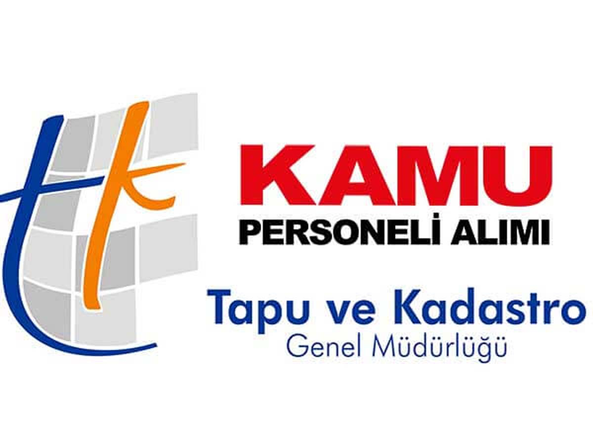 Tapu Ve Kadastro Genel Müdürlüğü Sözleşmeli Personel Alımı 2016