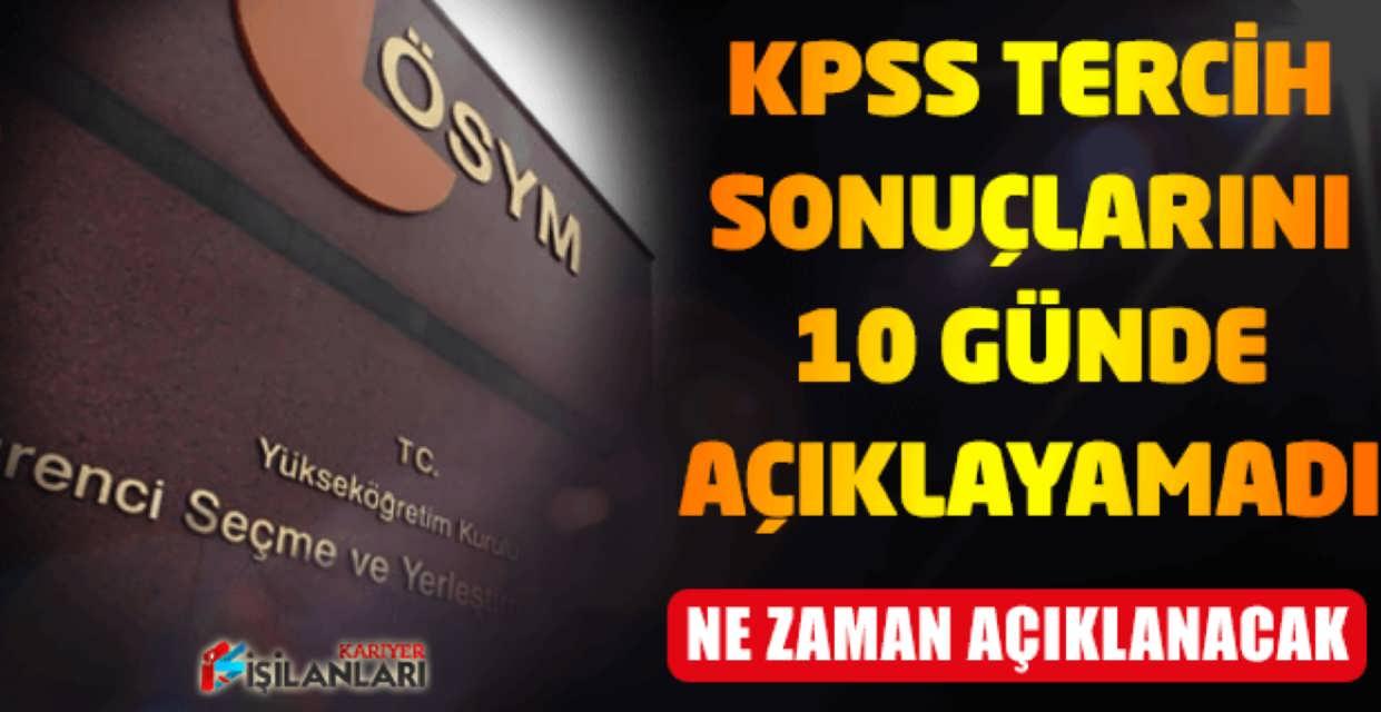 KPSS Memur Atama Tercih Sonuçları Ne Zaman Açıklanacak