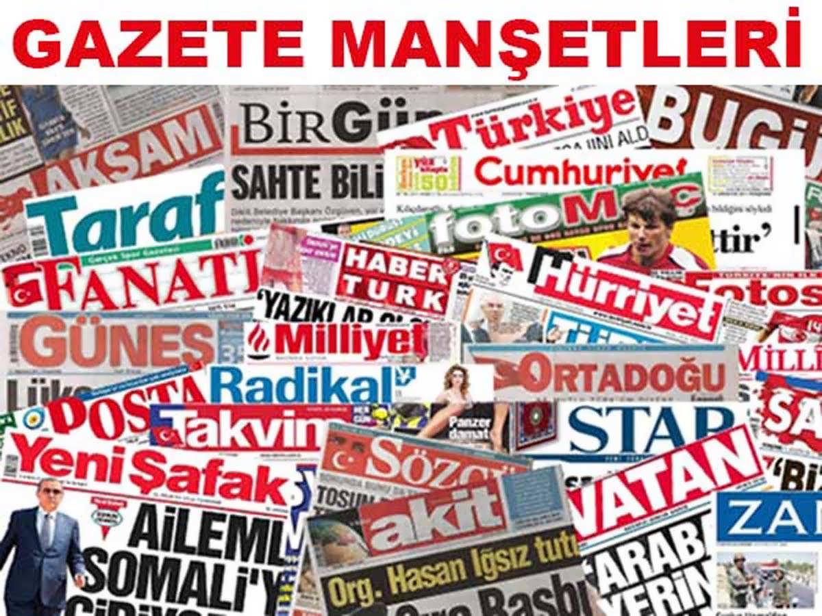 Günlük Gazete Manşetleri