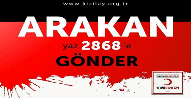 Türk Kızılay Arakan Yardım Kampanyası Başlattı