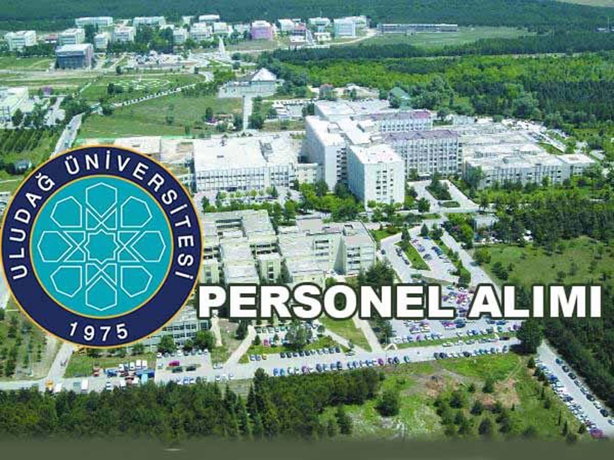 Uludağ Üniversitesi Sözleşmeli Personel Alımı 2016