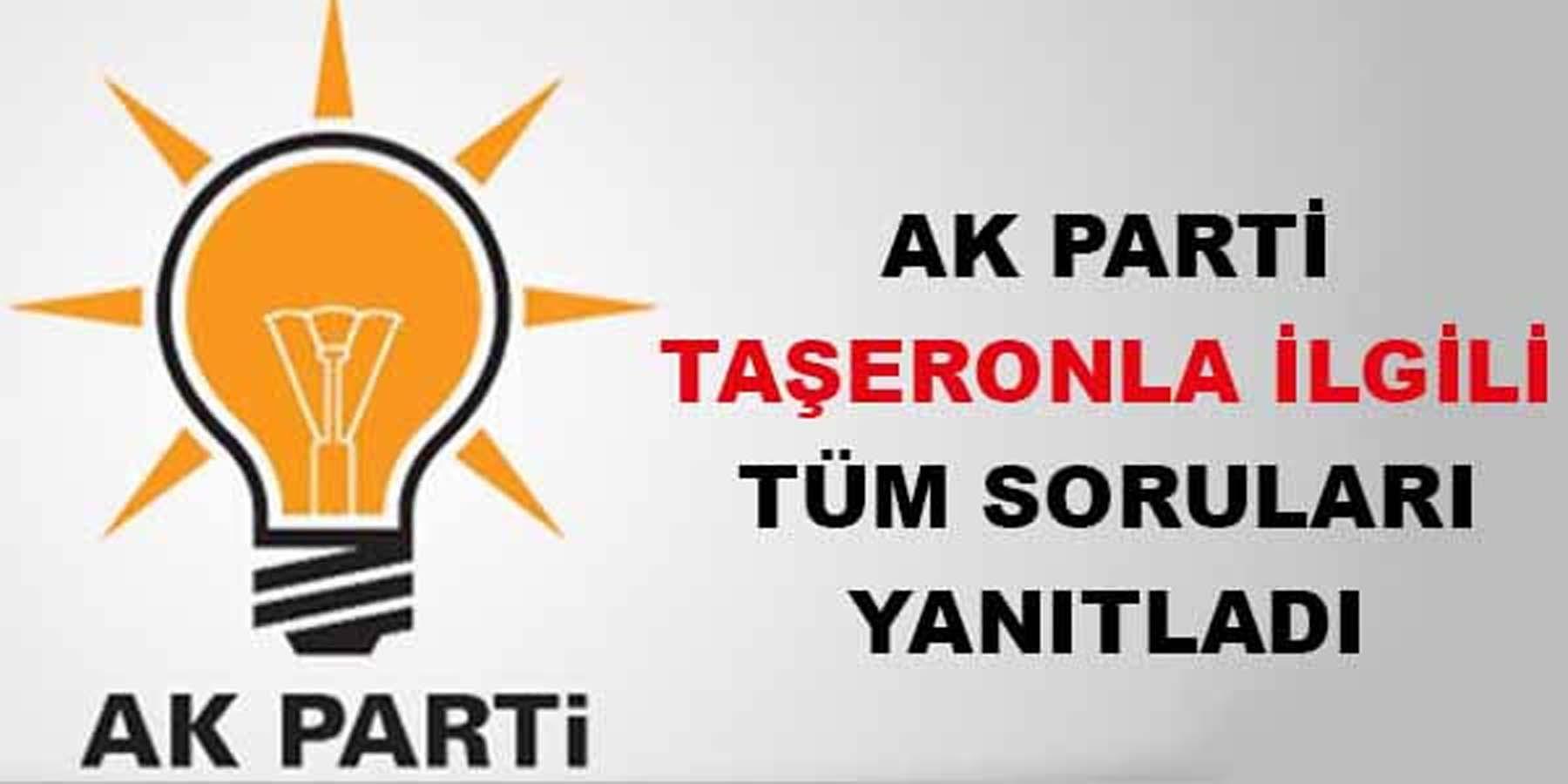 AK Parti Taşeron İşçilerle İlgili Tüm Soruları Yanıtladı