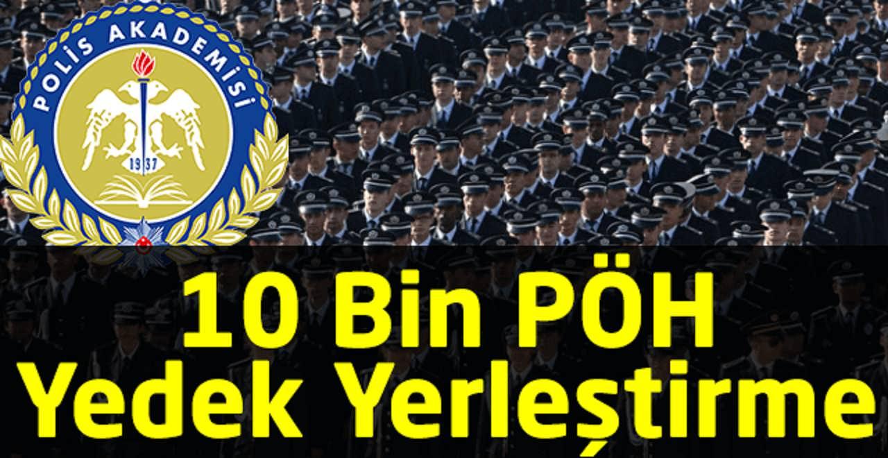 Polis Akademisi POMEM ve PÖH Yedek Duyurusu