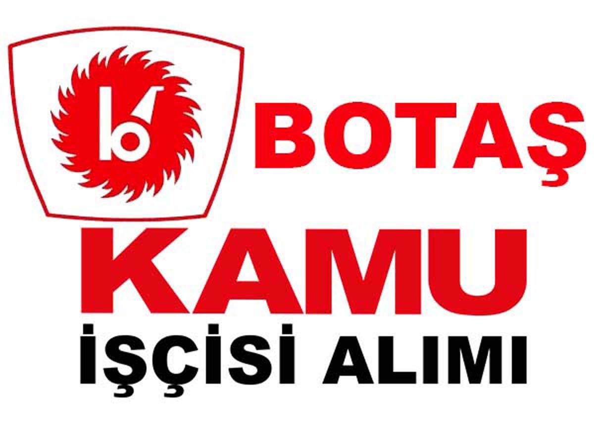 BOTAŞ Kayseri ve Tekirdağ Mühendis Alımı 2016
