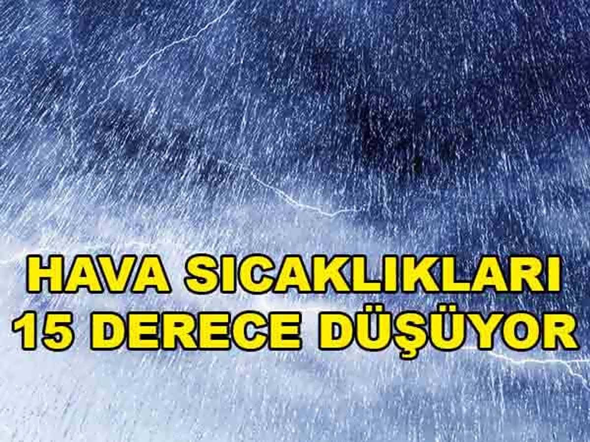 Ankara'da Sıcaklıklar Yarın 15 Derece Düşecek