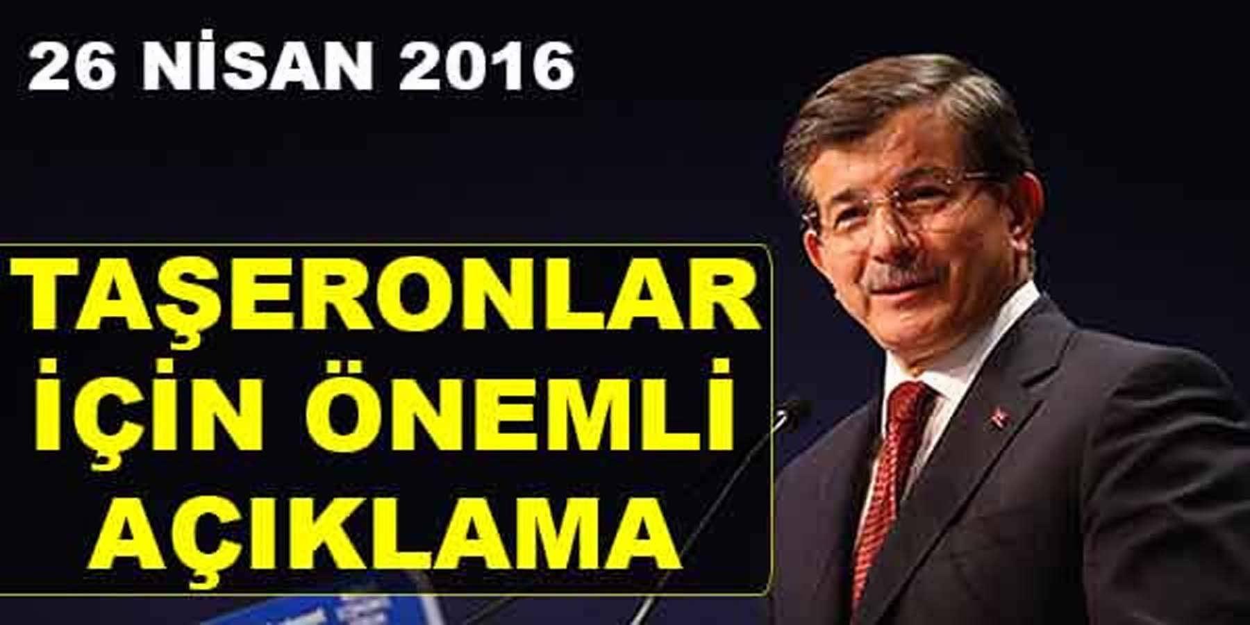 Başbakan Ahmet Davutoğlu Taşeron İşçilerin Kamuda Nasıl İstihdam Edileceğini Açıkladı