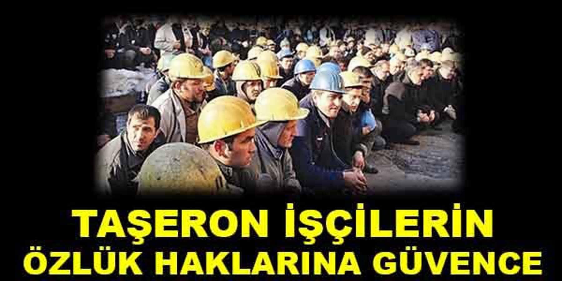Taşeron İşçilerin Özlük Haklarına Devlet Garantisi