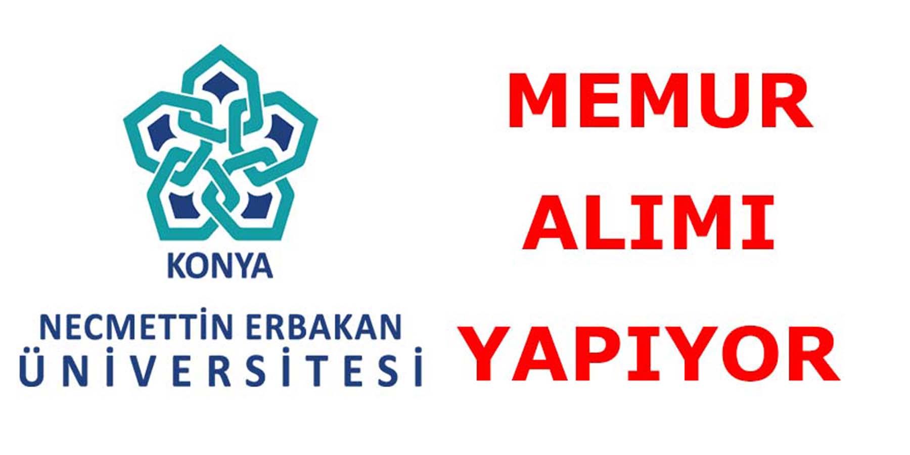 Necmettin Erbakan Üniversitesi Kamu Personeli Alımı Yapacak
