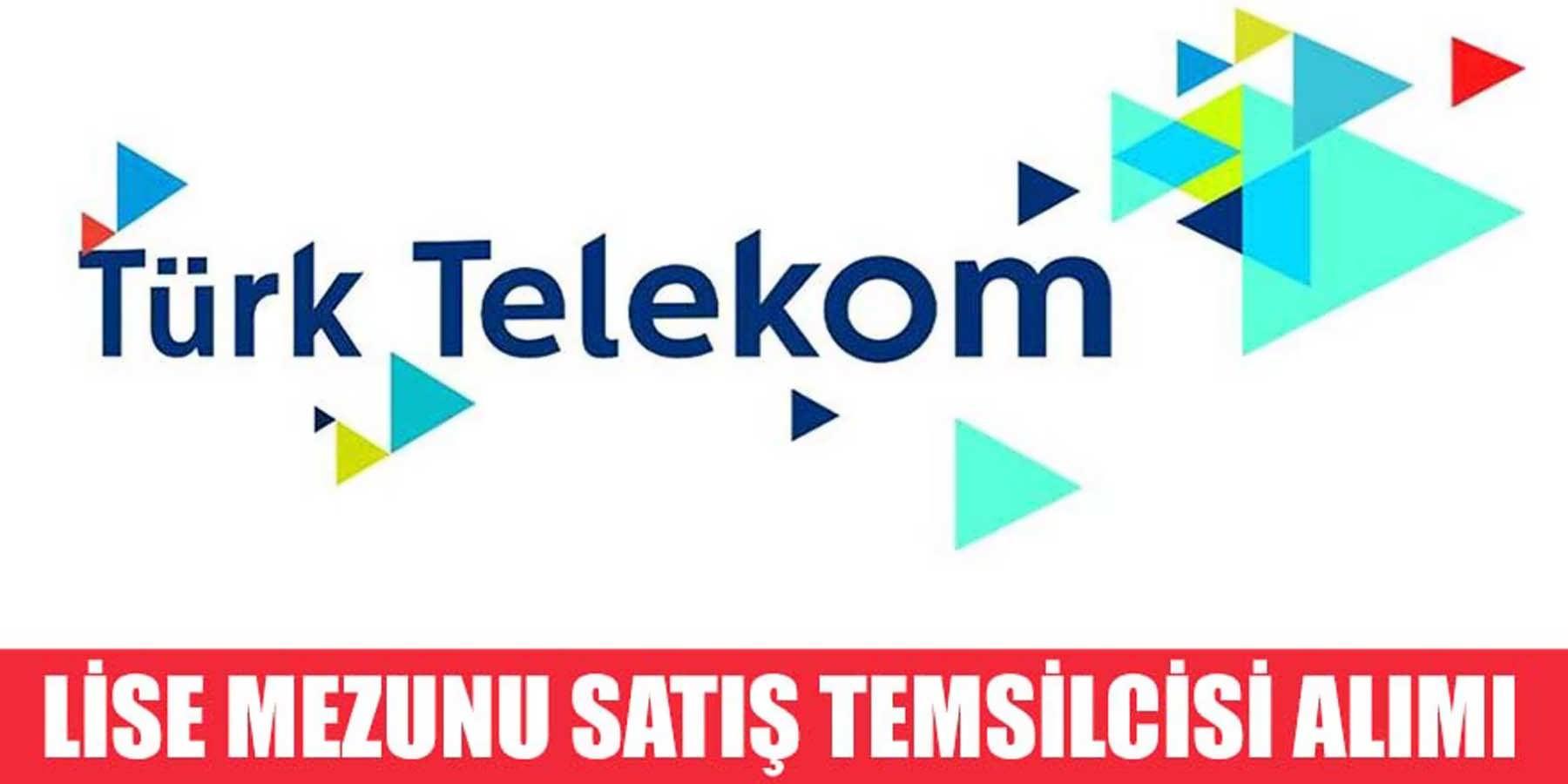 Türk Telekom Lise Mezunu Personel Alım