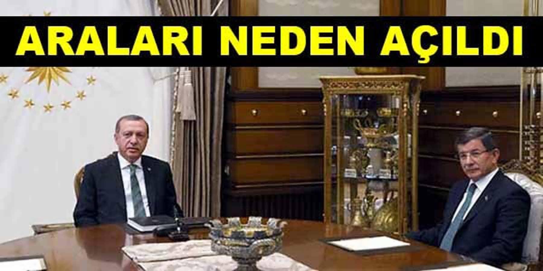 Davutoğlu İle Erdoğan'ın Arasını Açan Olaylar