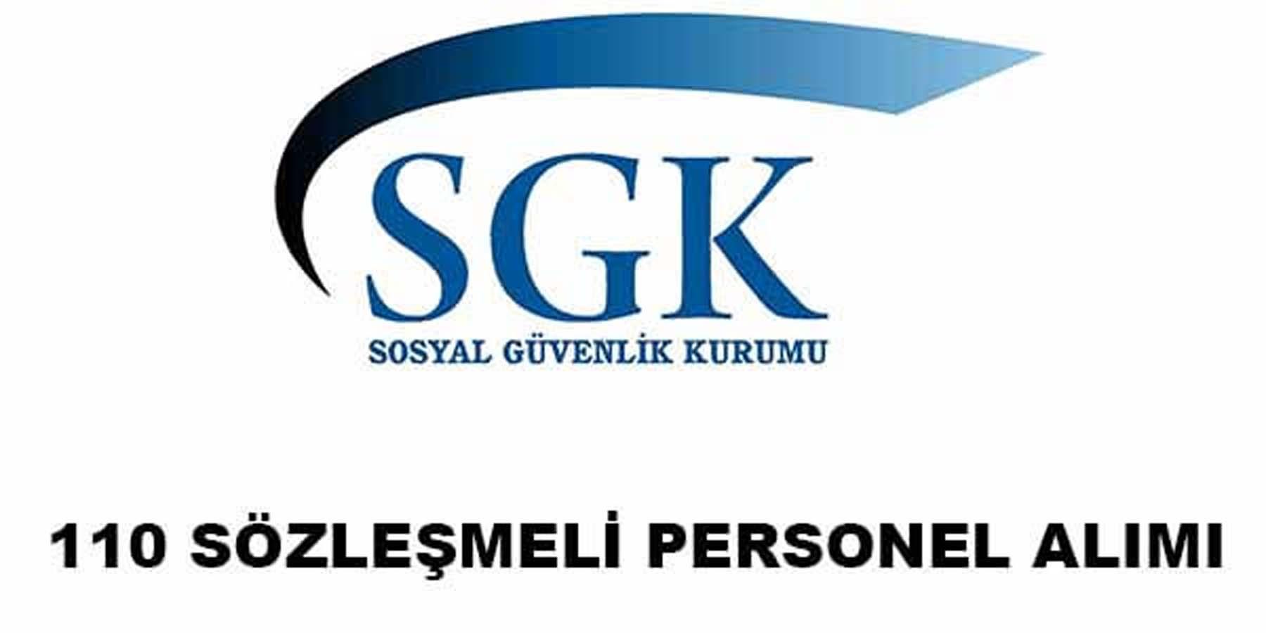 SGK 110 Personel Alımı