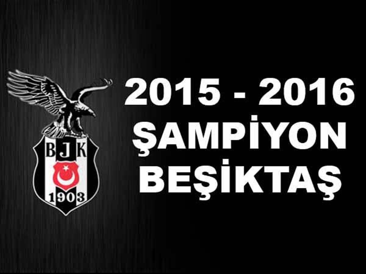Süper Lig Şampiyonu Beşiktaş Oldu