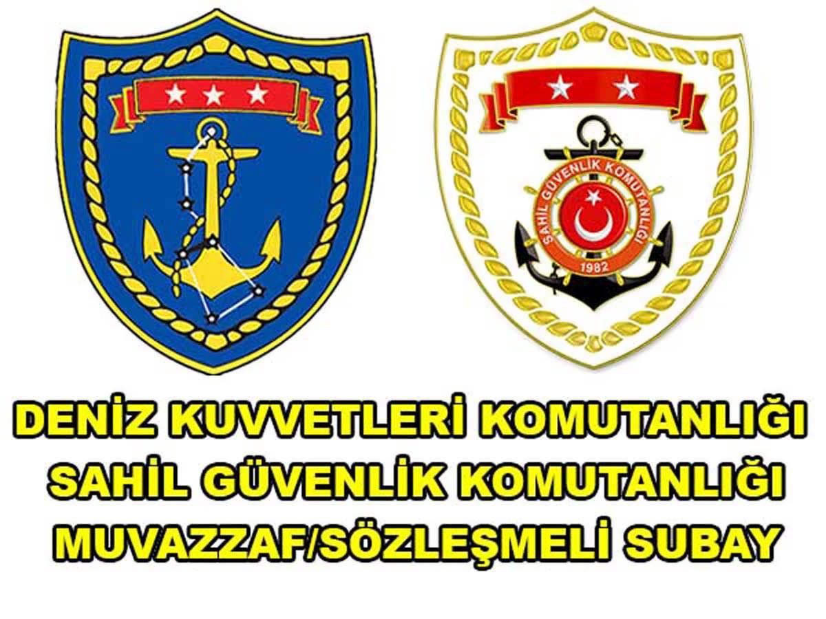 DKK ve SGK Muvazzaf Sözleşmeli Subay Alımı 2016