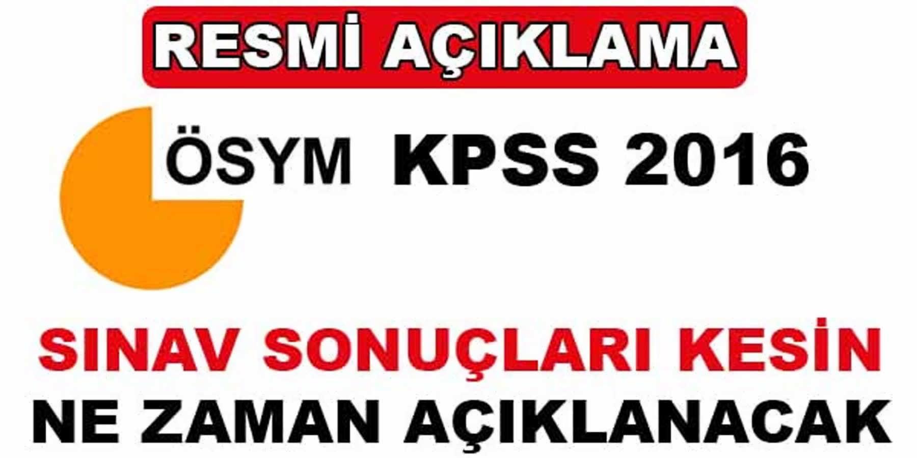 KPSS Sınav Sonuçları Ne Zaman Açıklanacak Adaylar Şokta