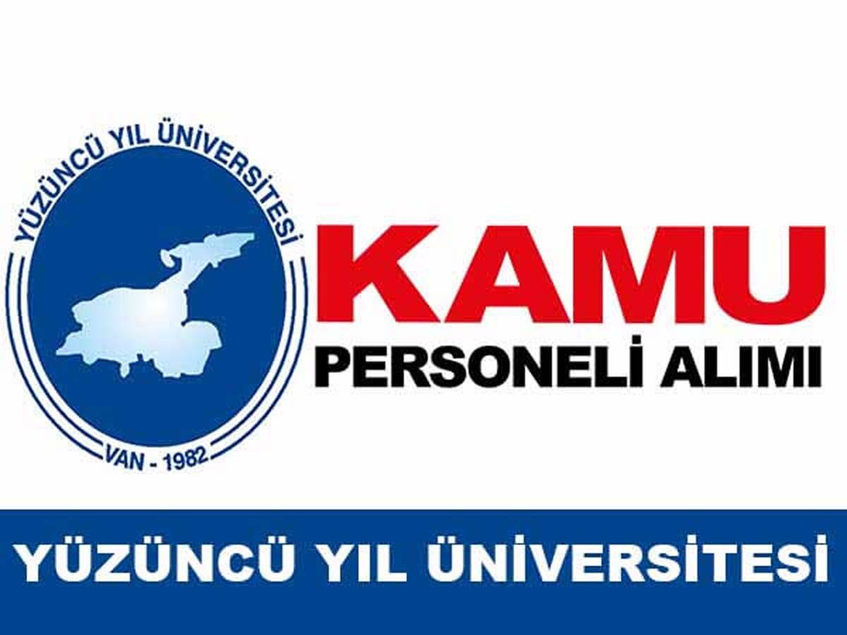 Yüzüncü Yıl Üniversitesi Kamu Personeli Alımı