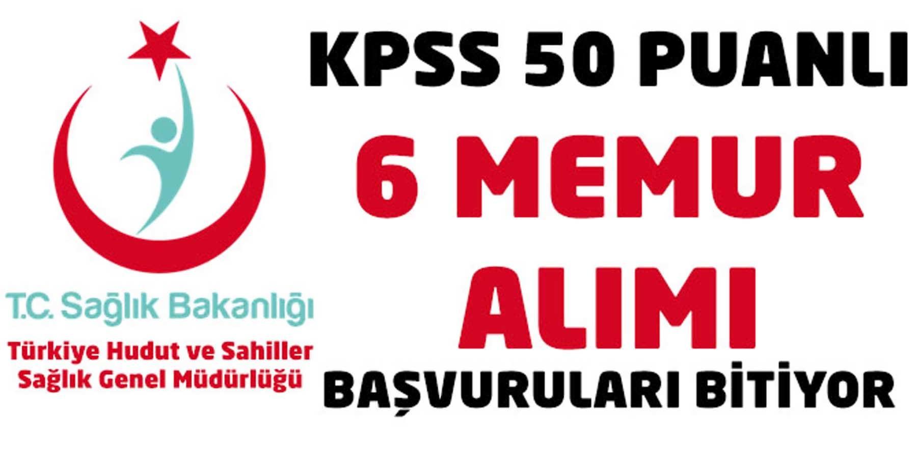 KPSS 50 Puan İle Teknisyen Memur Alımları Bitiyor