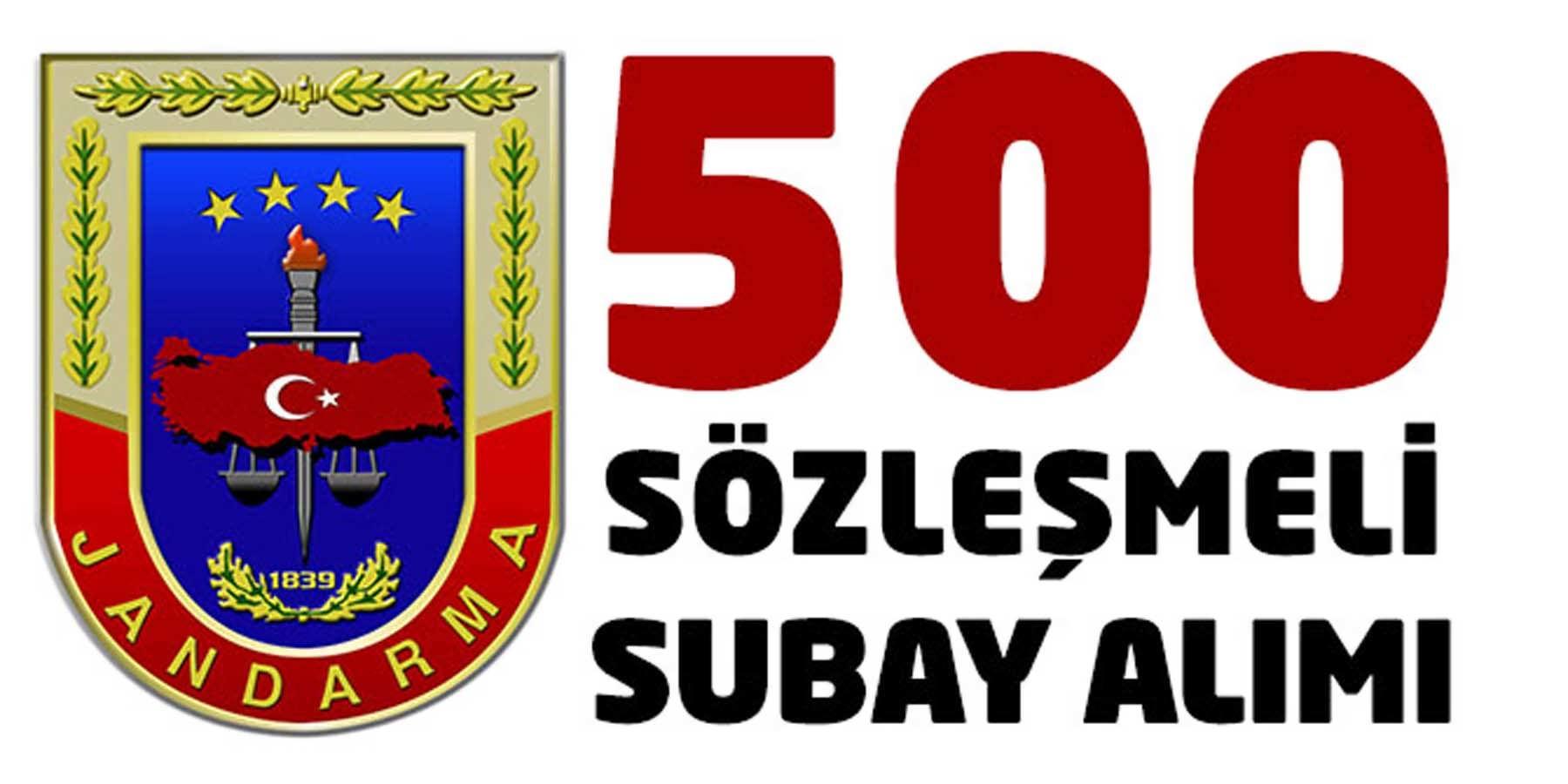 JGK Bay Bayan 2018 Yılı 500 Subay Alımı