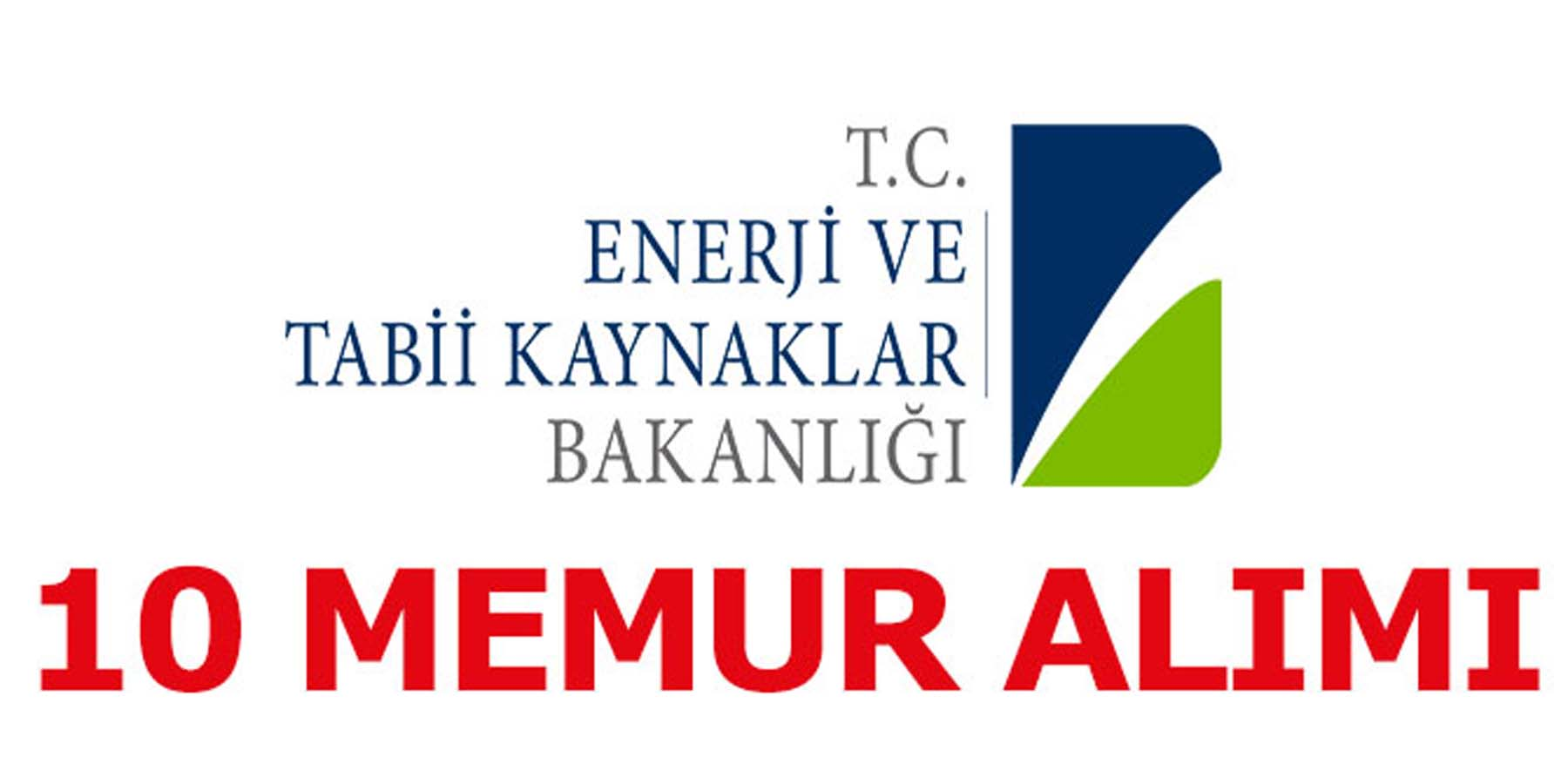 T.C. Enerji Bakanlığı 10 Bilişim Personel Alıyor