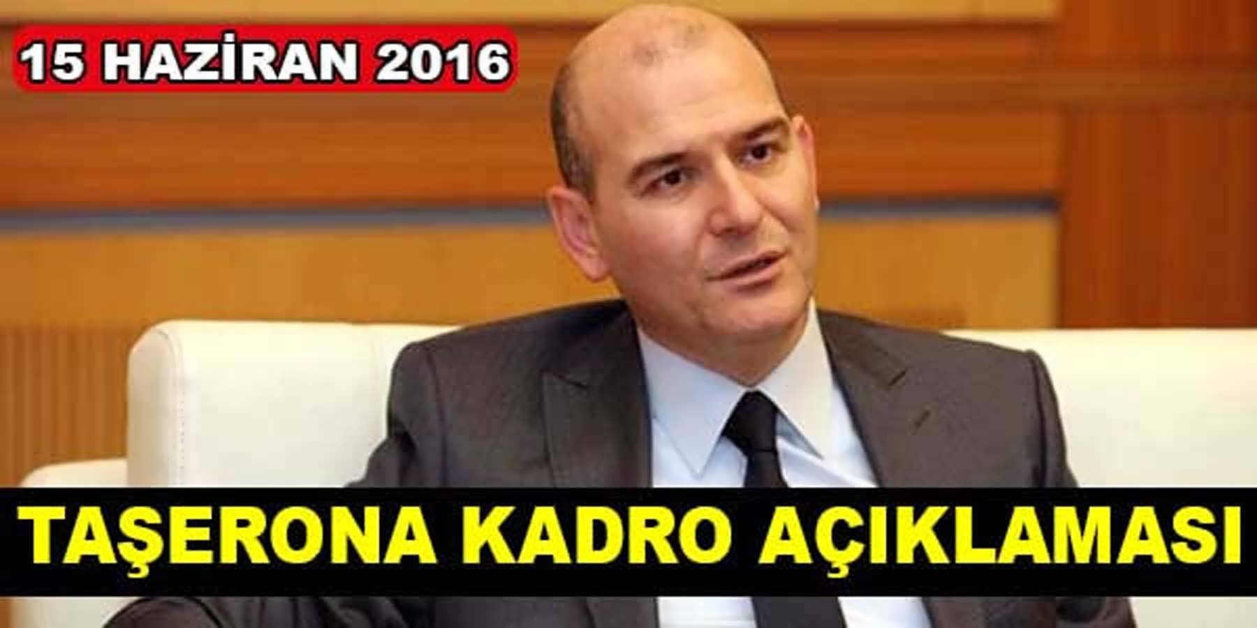 Soylu Taşeron Açıklaması 15 Haziran 2016