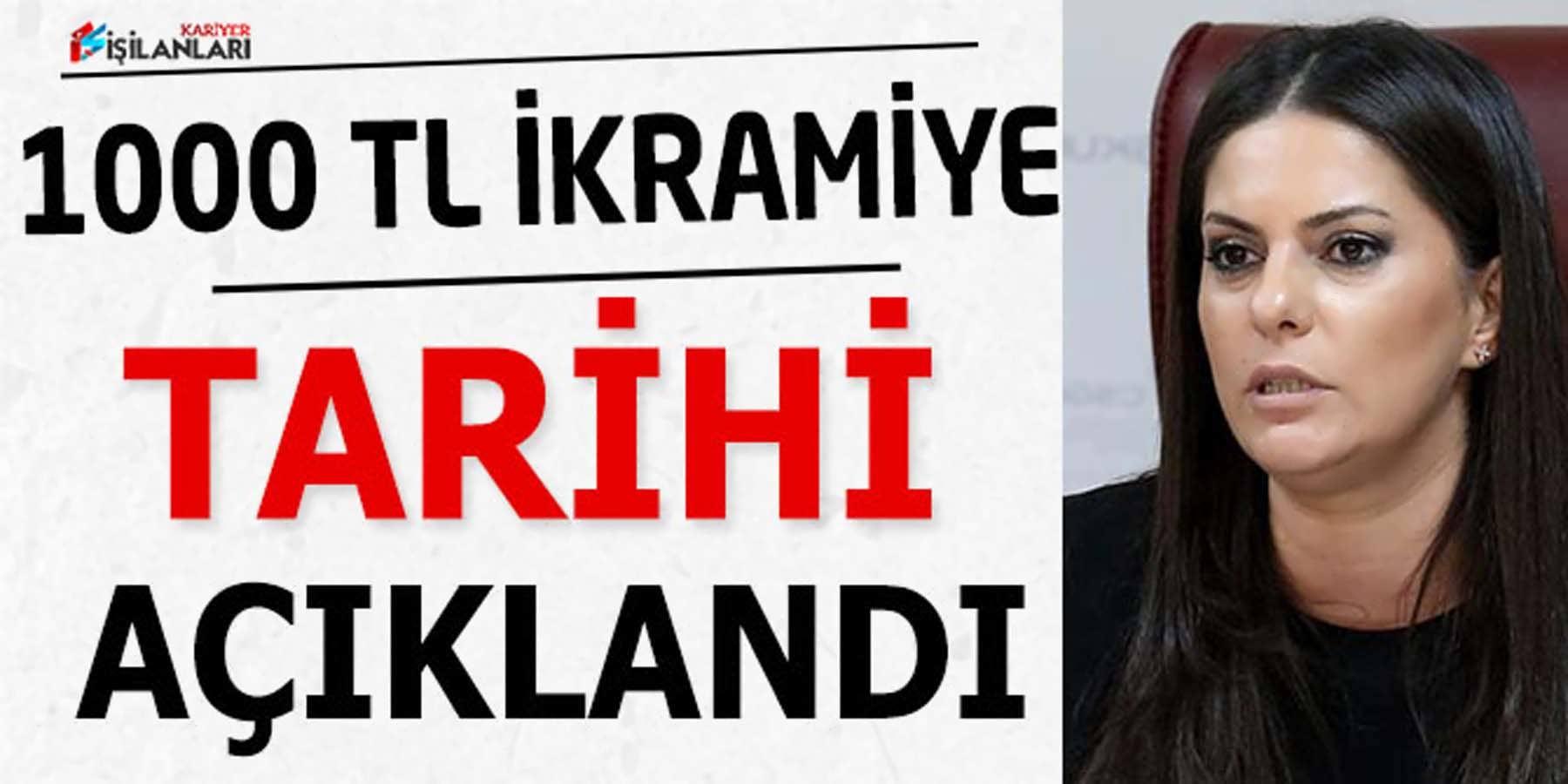 Bakan Sarıeroğlu 1000 TL İkramiye İçin Tarih Verdi