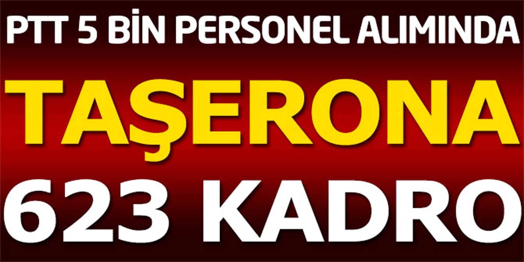 PTT Personel Alımında Taşeronlara 623 Kadro