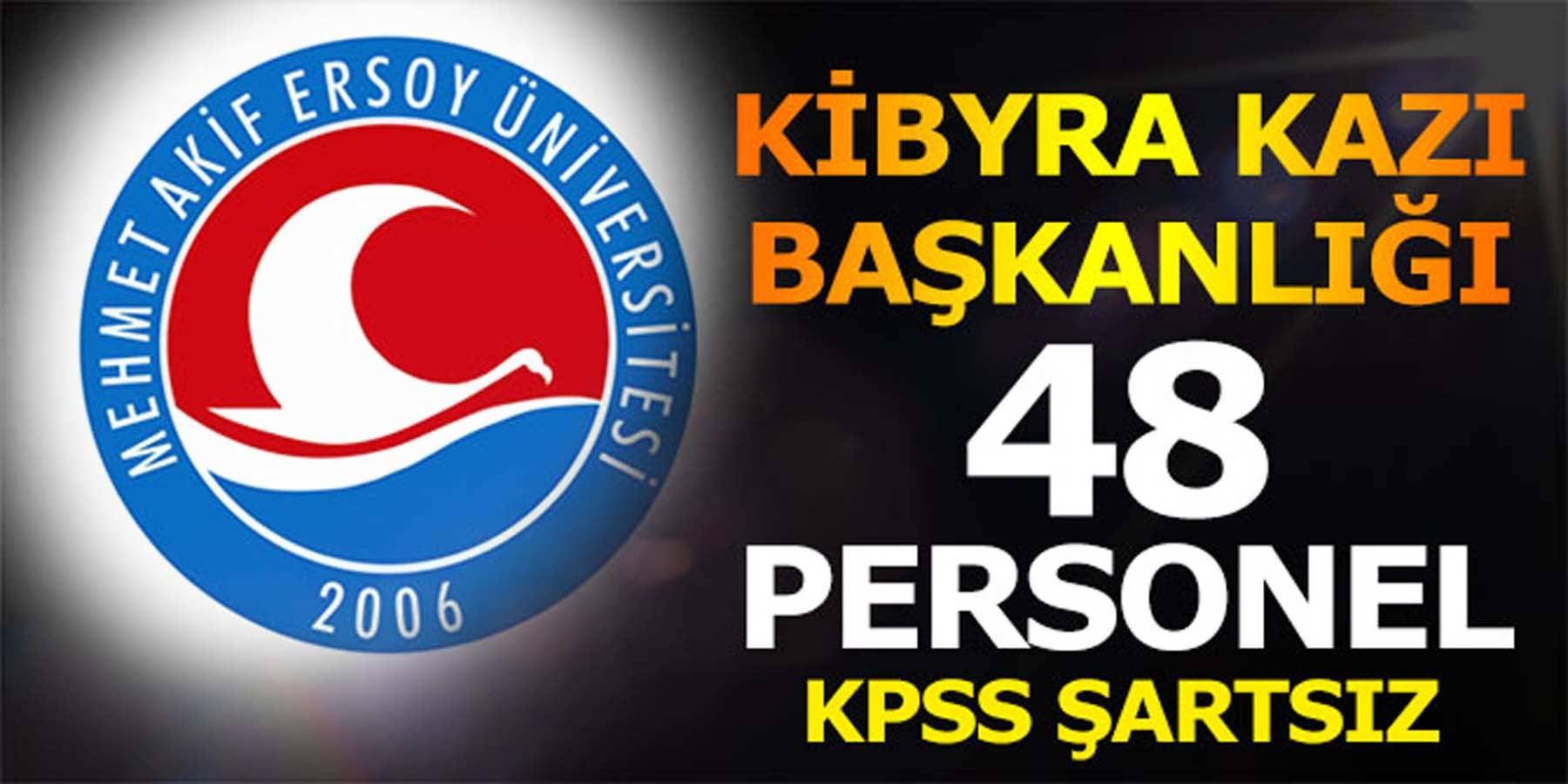 Kibyra Kazı Başkanlığı 43 Personel Alımı