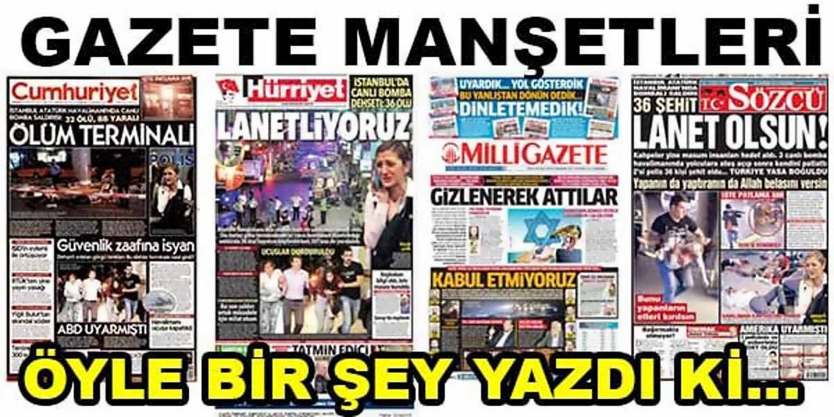 29 Haziran 2016 Gazete Manşetleri Kamu Personeli Alımı