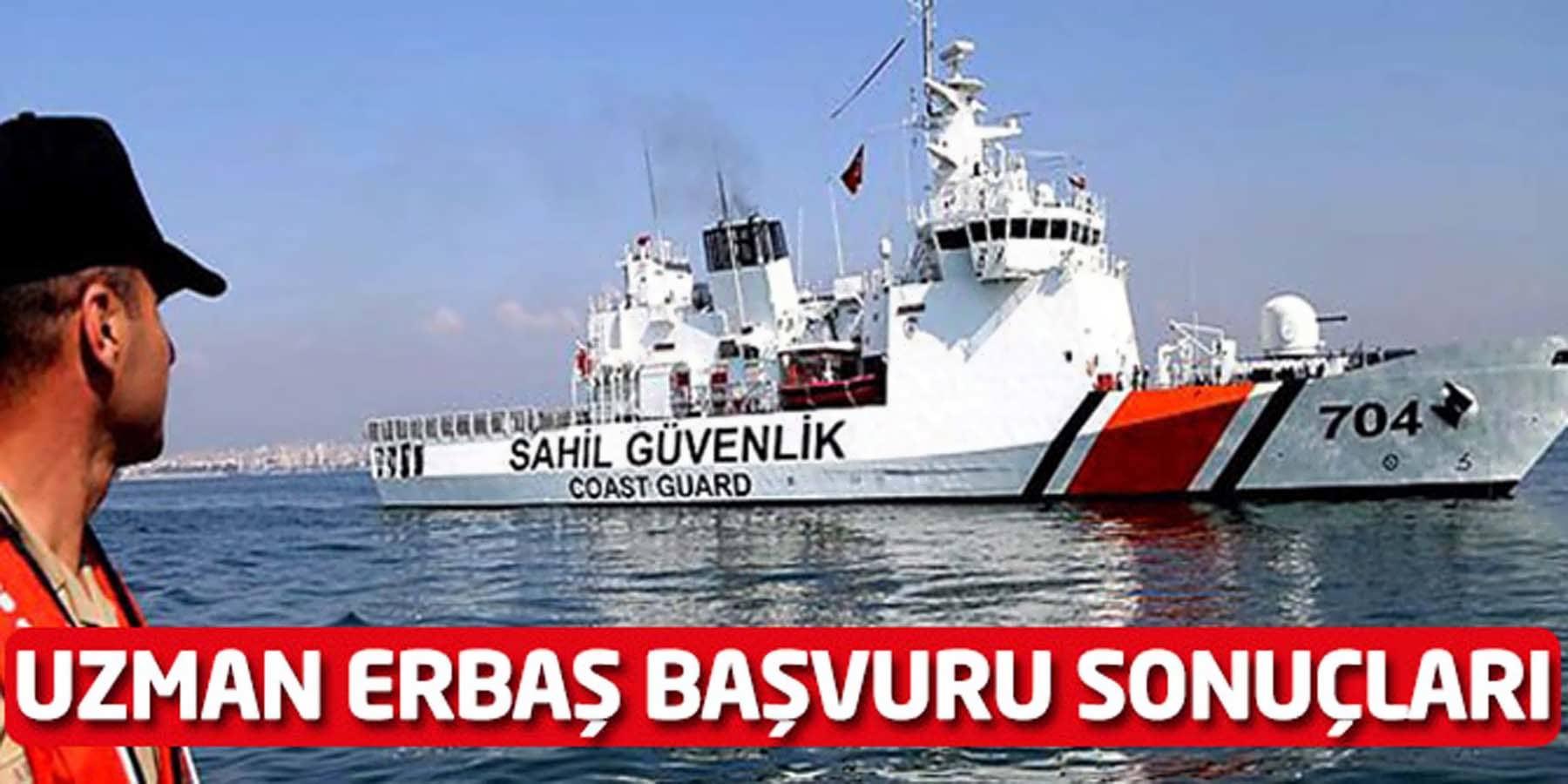 Sahil Güvenlik Komutanlığı Askeri Personel Alımı Başvuru Sonuçları