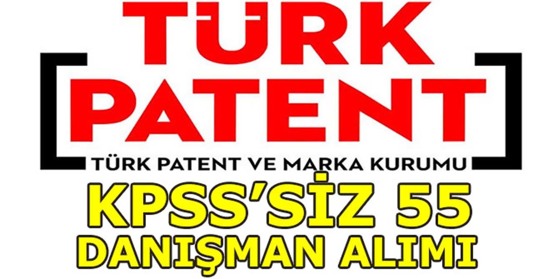 TPE KPSS'SİZ 55 Danışman Alımı 2018