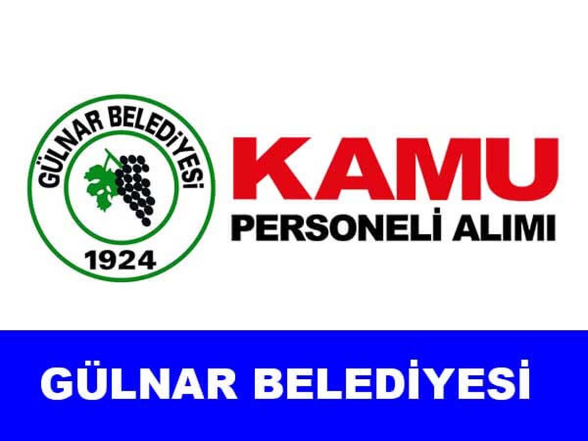 Mersin Gülnar Belediyesi Kamu Personel Alımı