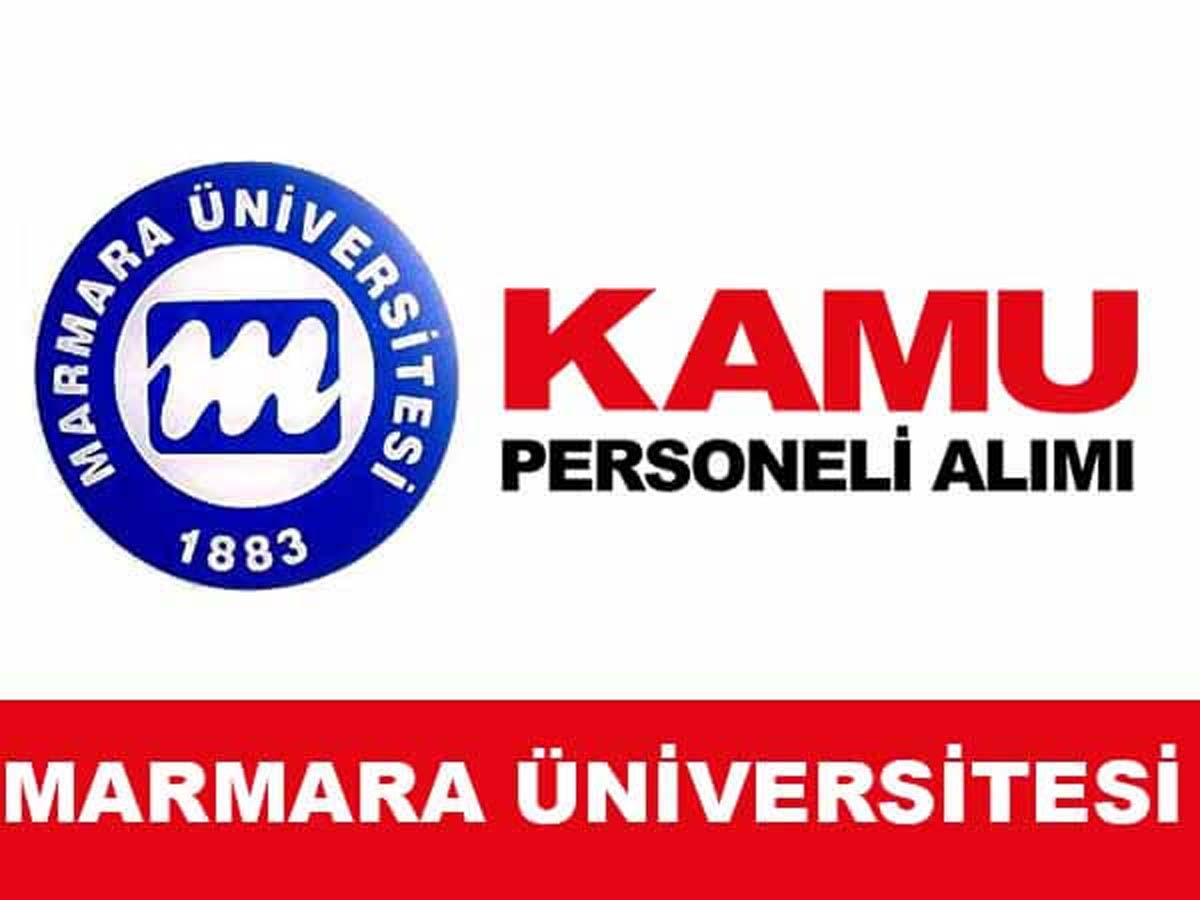 Marmara Üniversitesi Sözleşmeli Personel Alımı