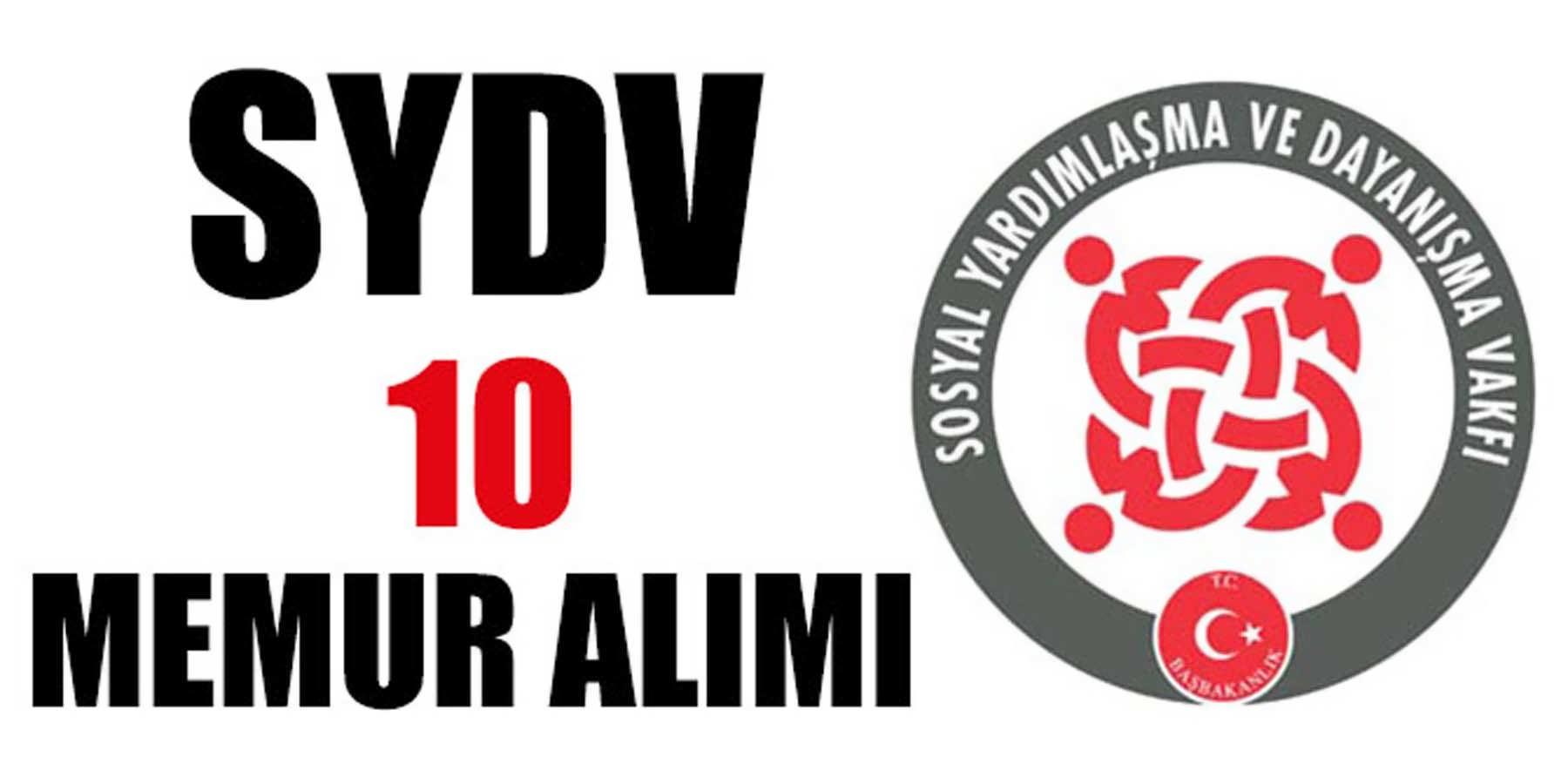SYDV 5 Şehir 10 Memur Alımı