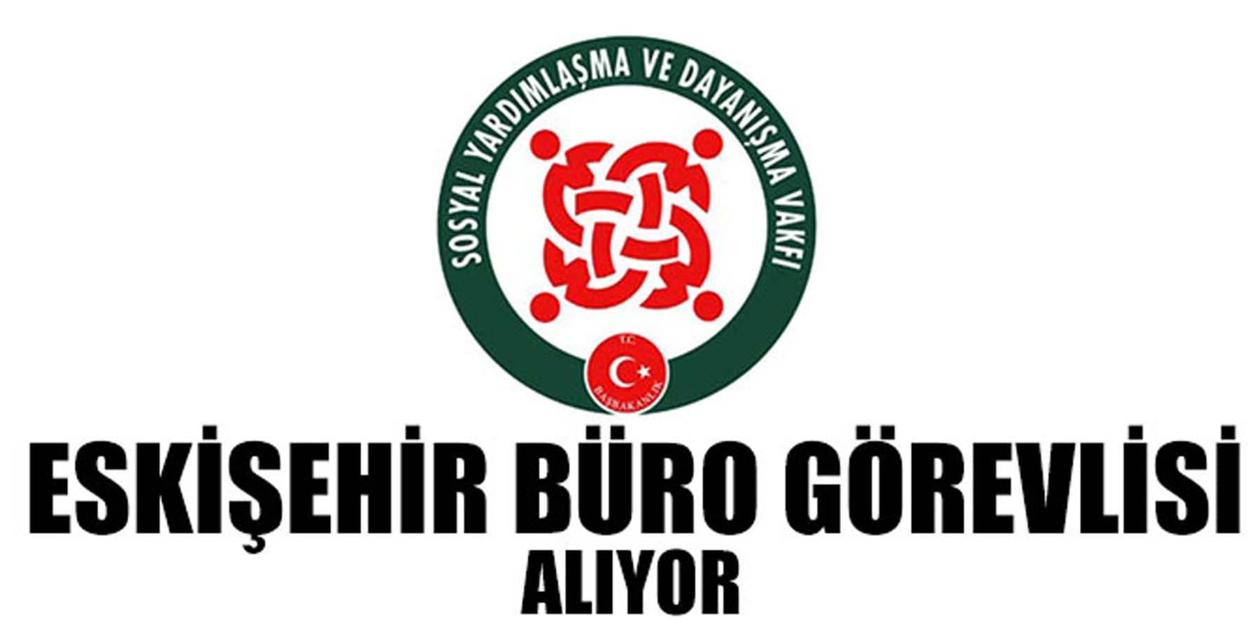 Eskişehir SYDV (Memur) Büro Görevlisi Alımı