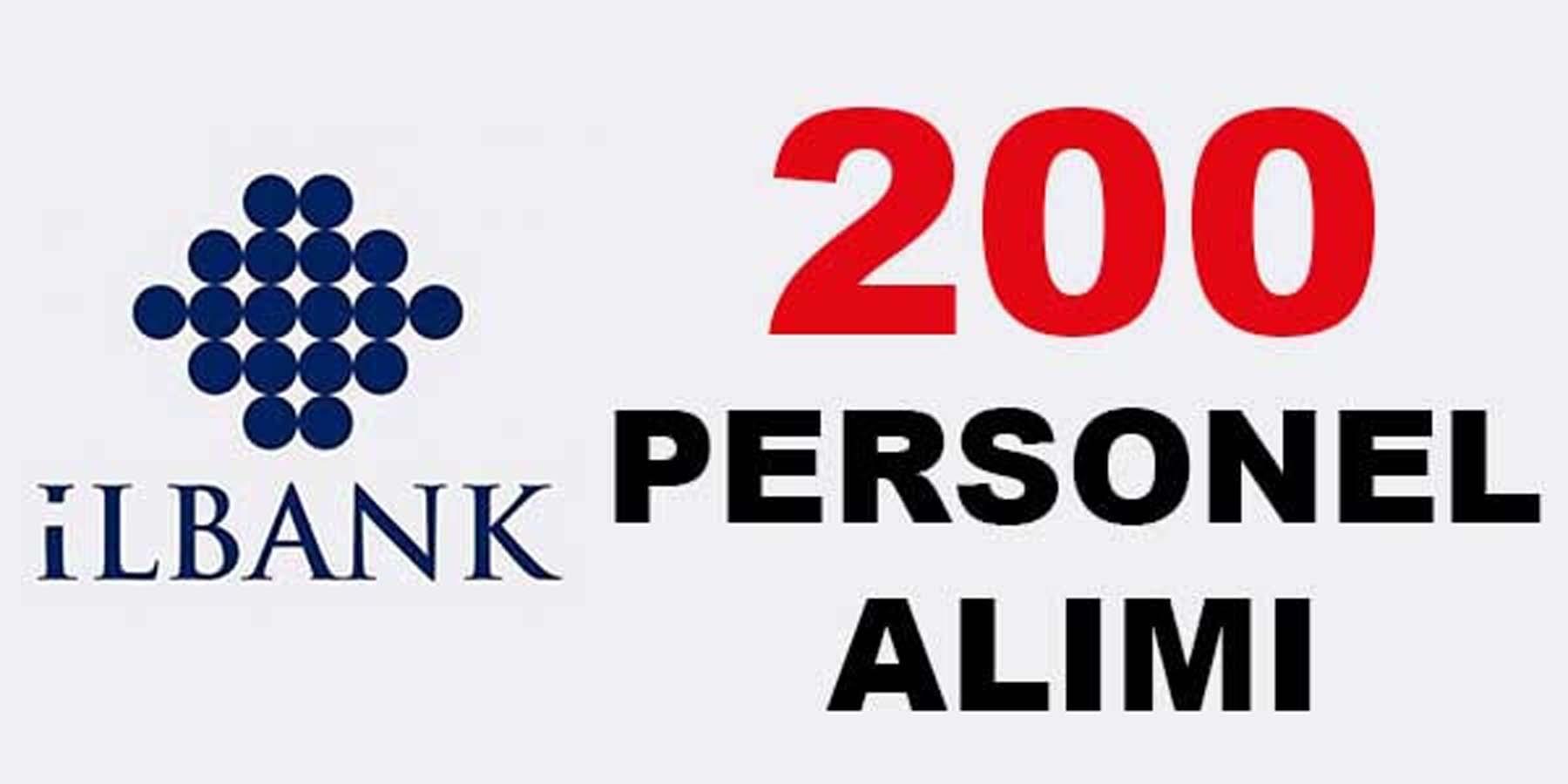 İller Bankası 200 Personel Alımı
