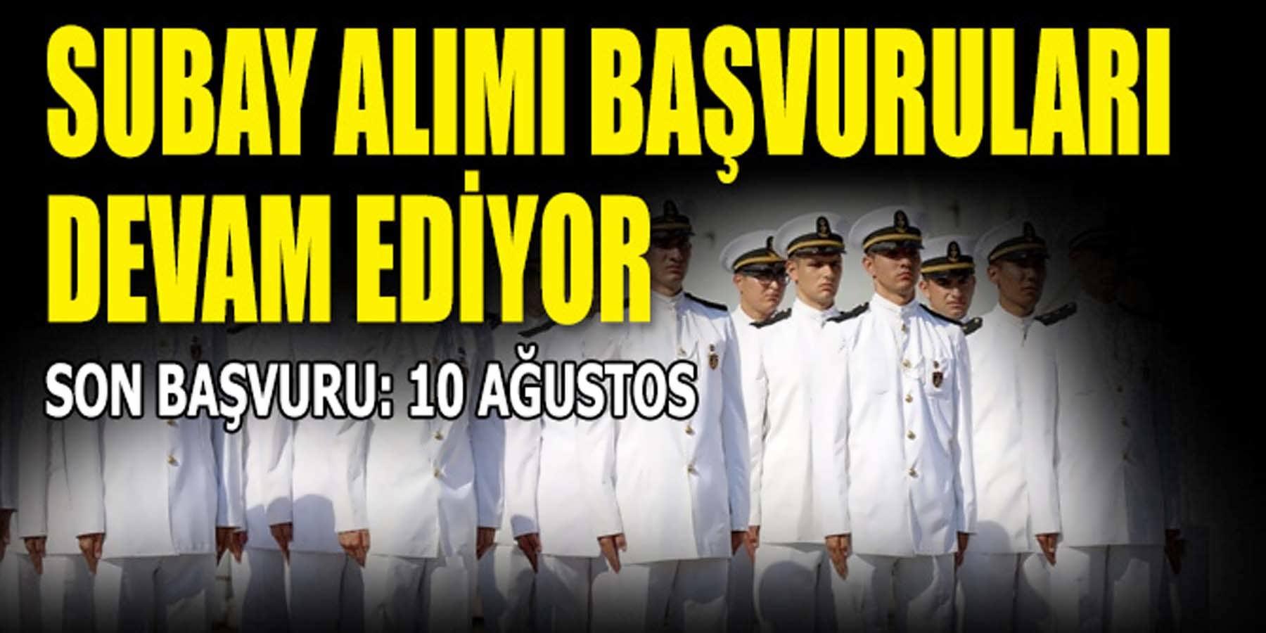 Deniz Kuvvetleri Subay Alımı Başvuruları Devam Ediyor