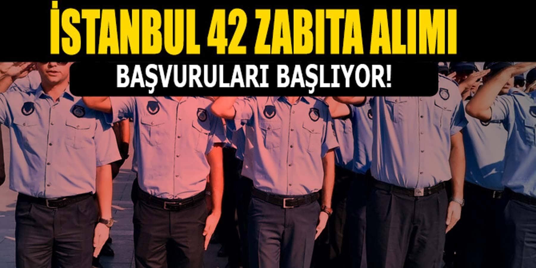 İstanbul Bay Bayan 42 Zabıta Alımı Başvuruları Başlıyor