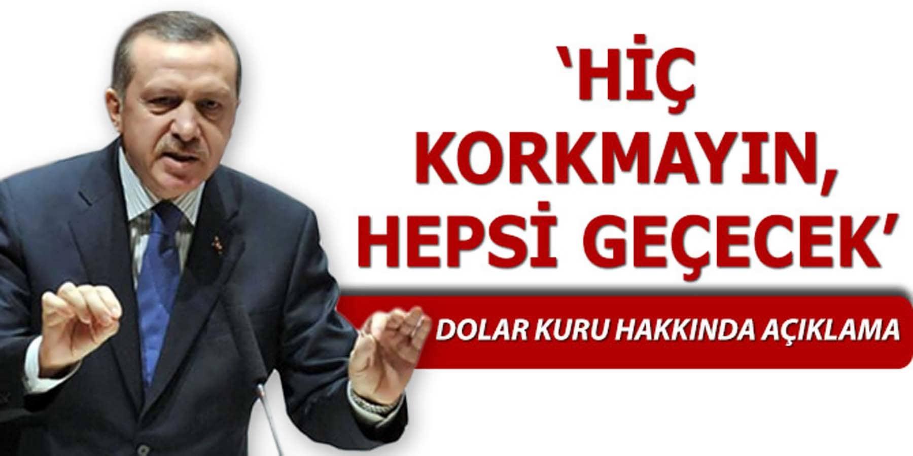 Erdoğan İş Dünyasına Olumlu Telkinlerde Bulundu