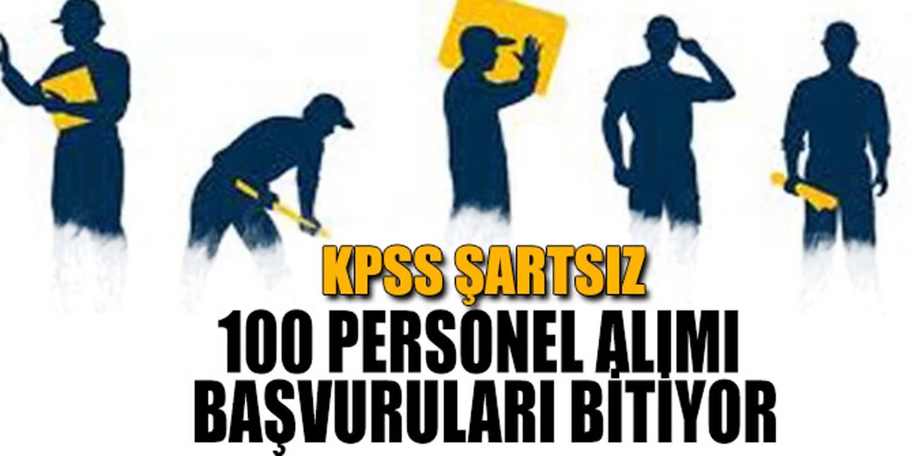 Belediye KPSS Şartı Olmadan 100 Personel Alımı Başvuruları Bitiyor