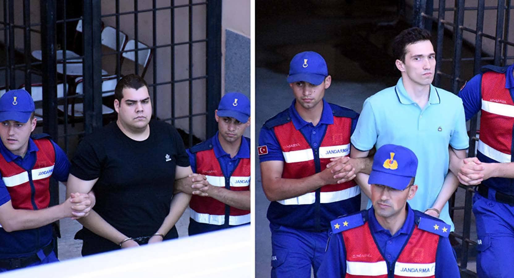 Edirne'de Tutuklu 2 Yunan Askerine Tahliye