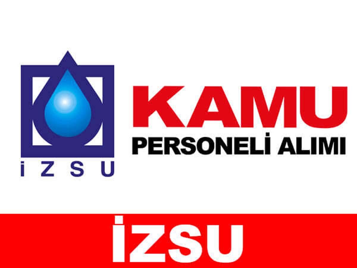 İzmir Su ve Kanalizasyon İdaresi Personel Alımı