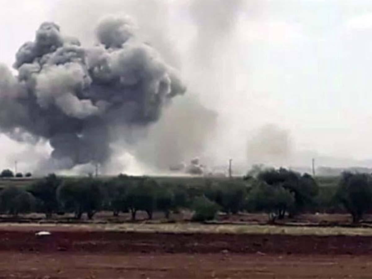 Rusya İdlib'i, İran Erbil'i Vuruyor
