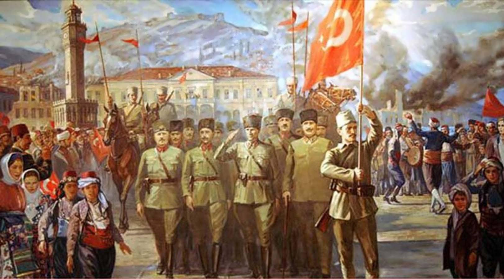 9 Eylül İzmir'in Düşman İşgalinden Kurtuluşunun 96. Yıldönümü