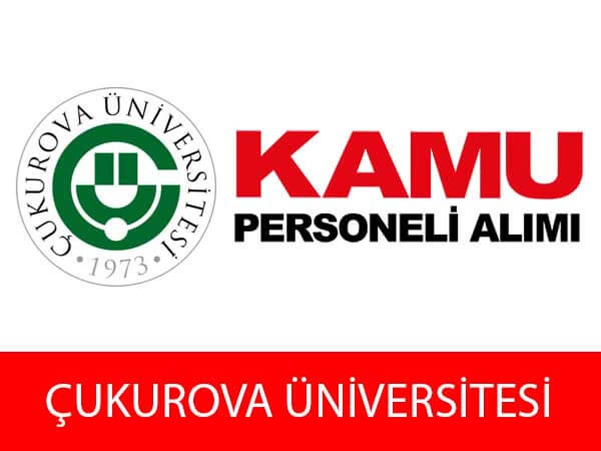 Çukurova Üniversitesi 8 Daimi Personel Alımı