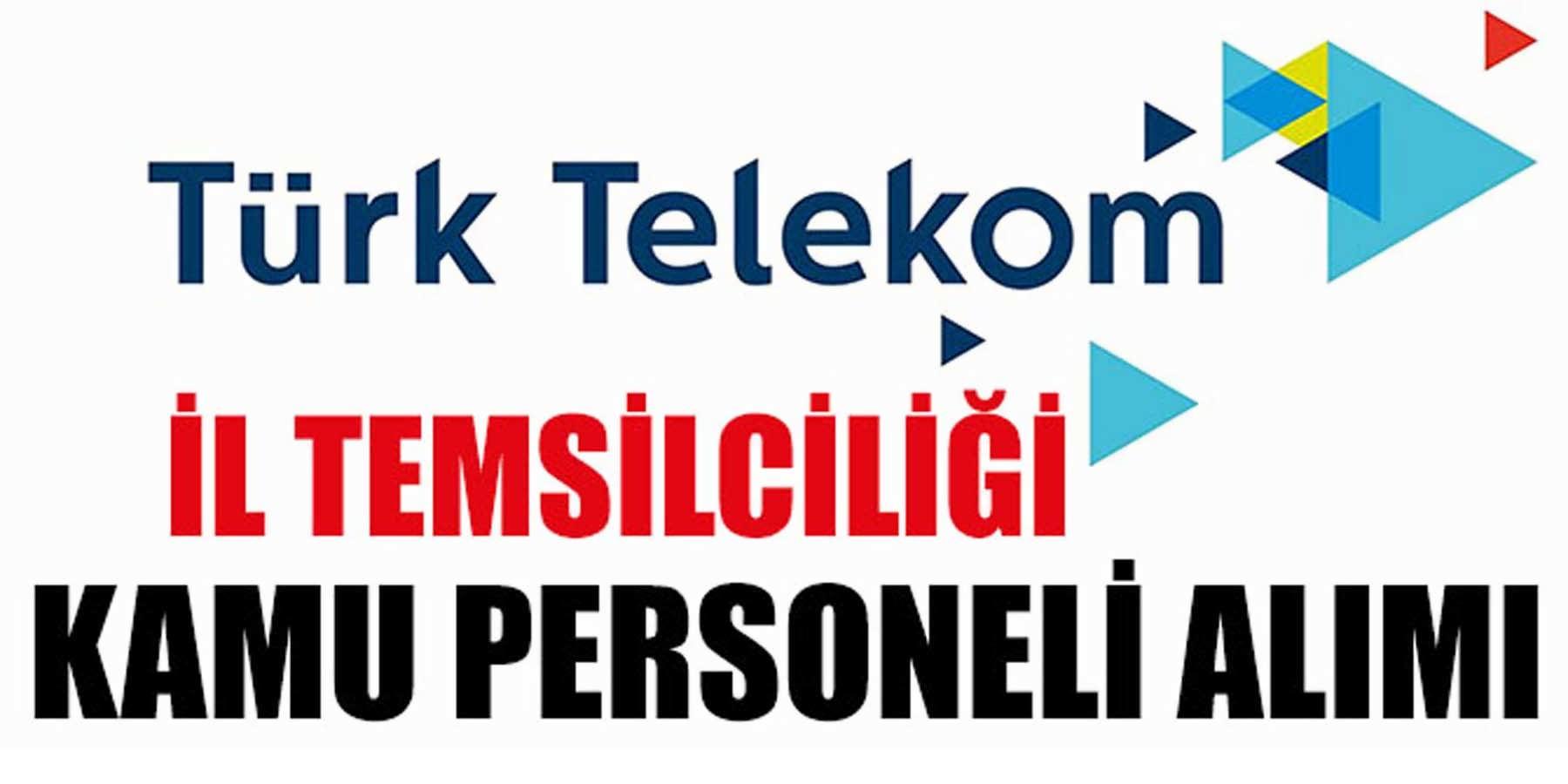 Türk Telekom A.Ş. Kamu Personeli Alımı (Tekniker)