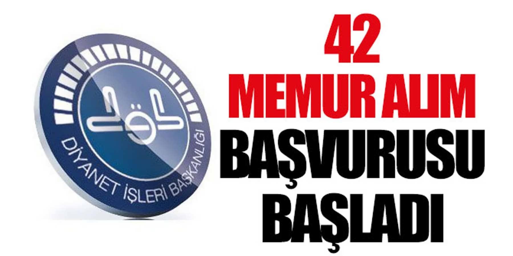 DİB 42 Sözleşmeli Personel Alım Başvurusu