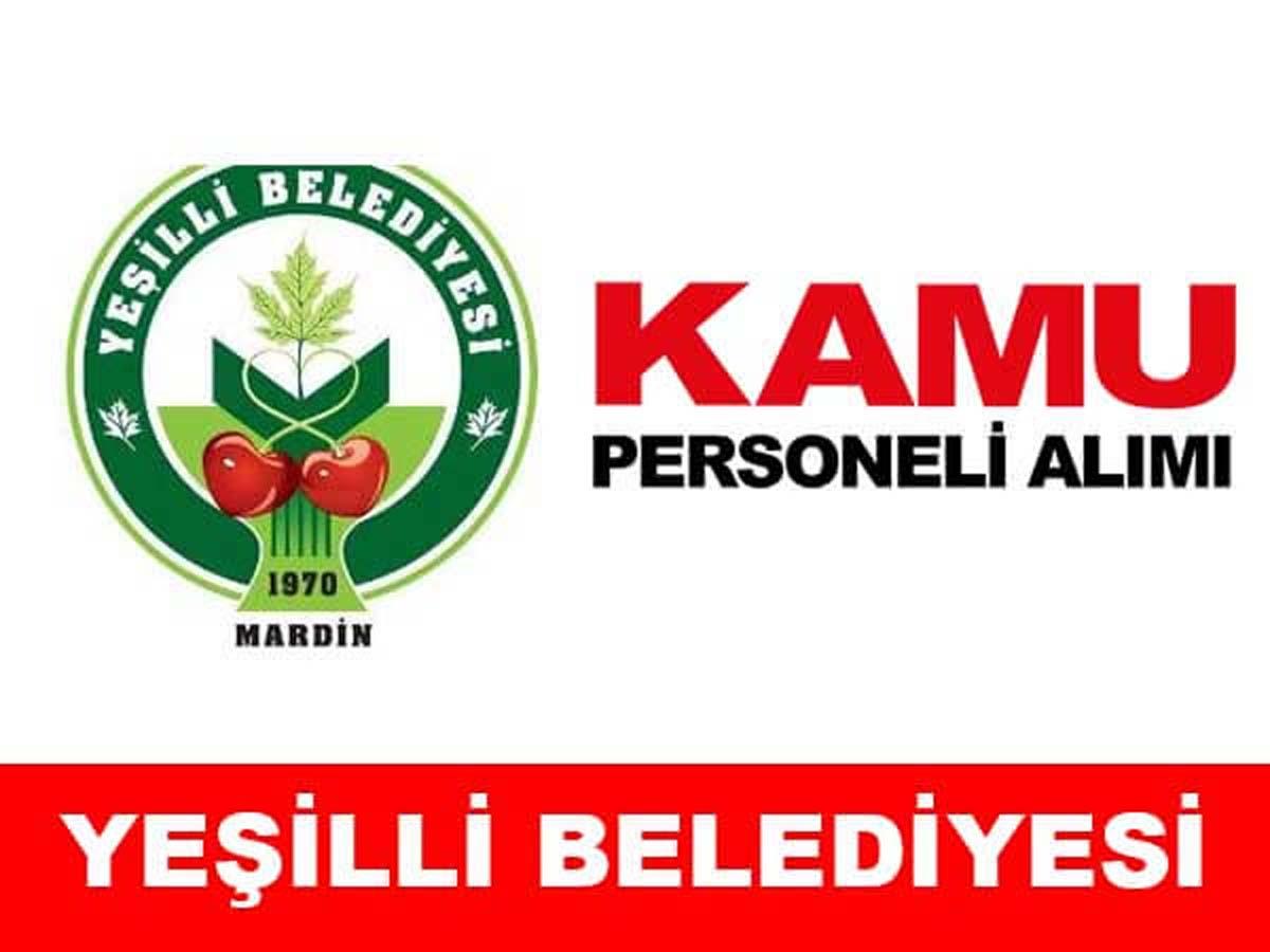 Yeşilli Belediyesi 24 Personel Alımı