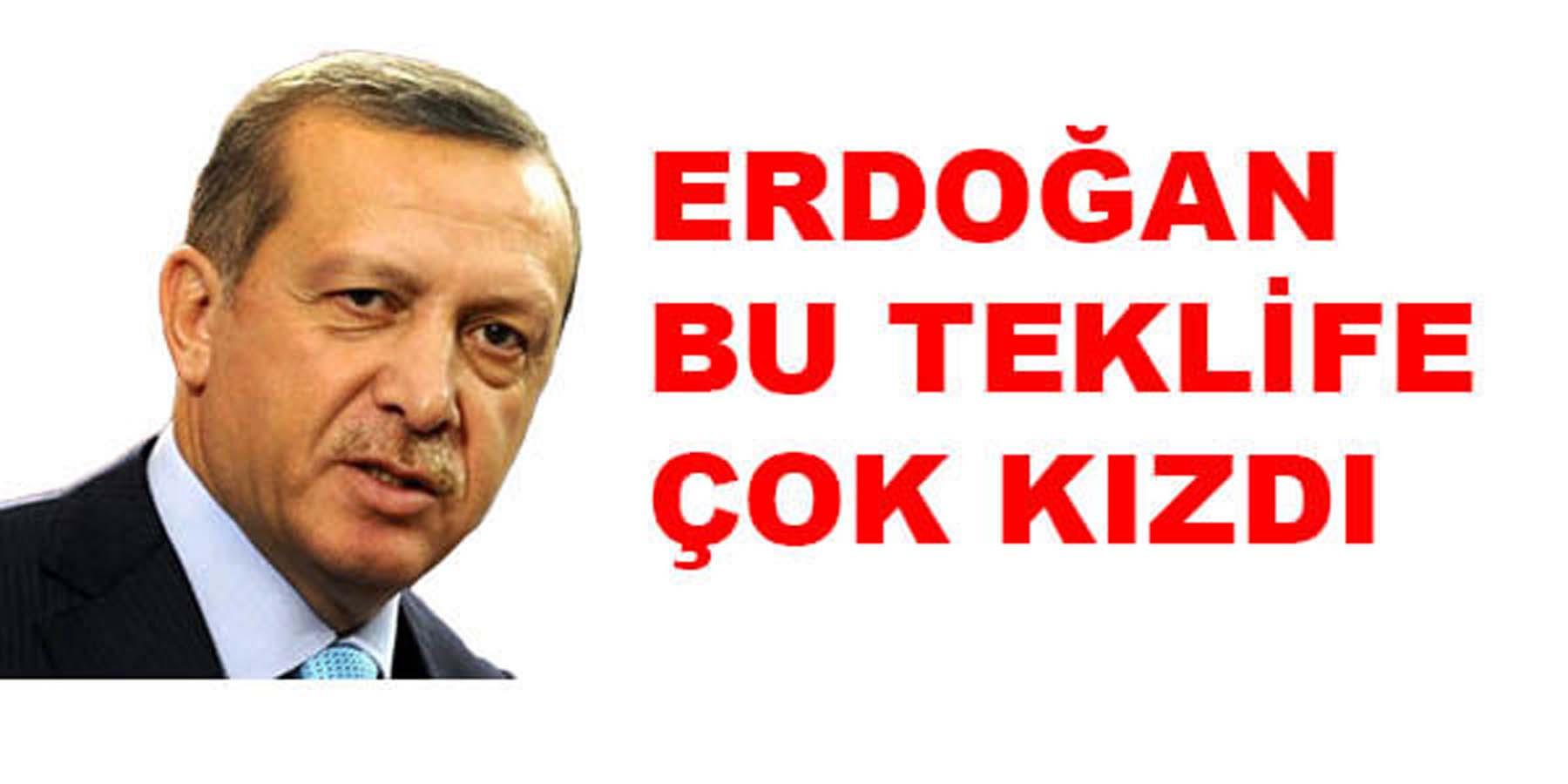 Erdoğan Bu Teklife Çok Kızdı