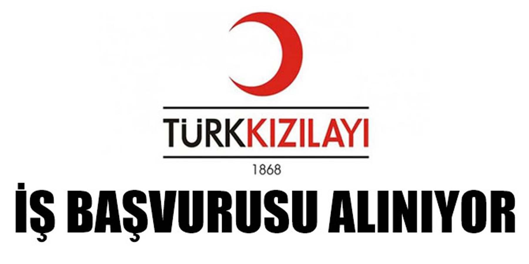 Türk Kızılayı Kariyer İş İlanları Başvurusu Alınıyor
