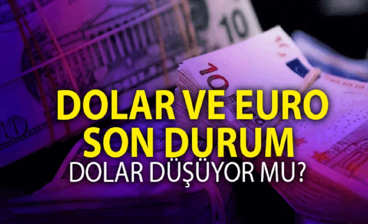 Dolar düştü mü? Dolar ne kadar oldu? İşte dolar ve euro son durumu