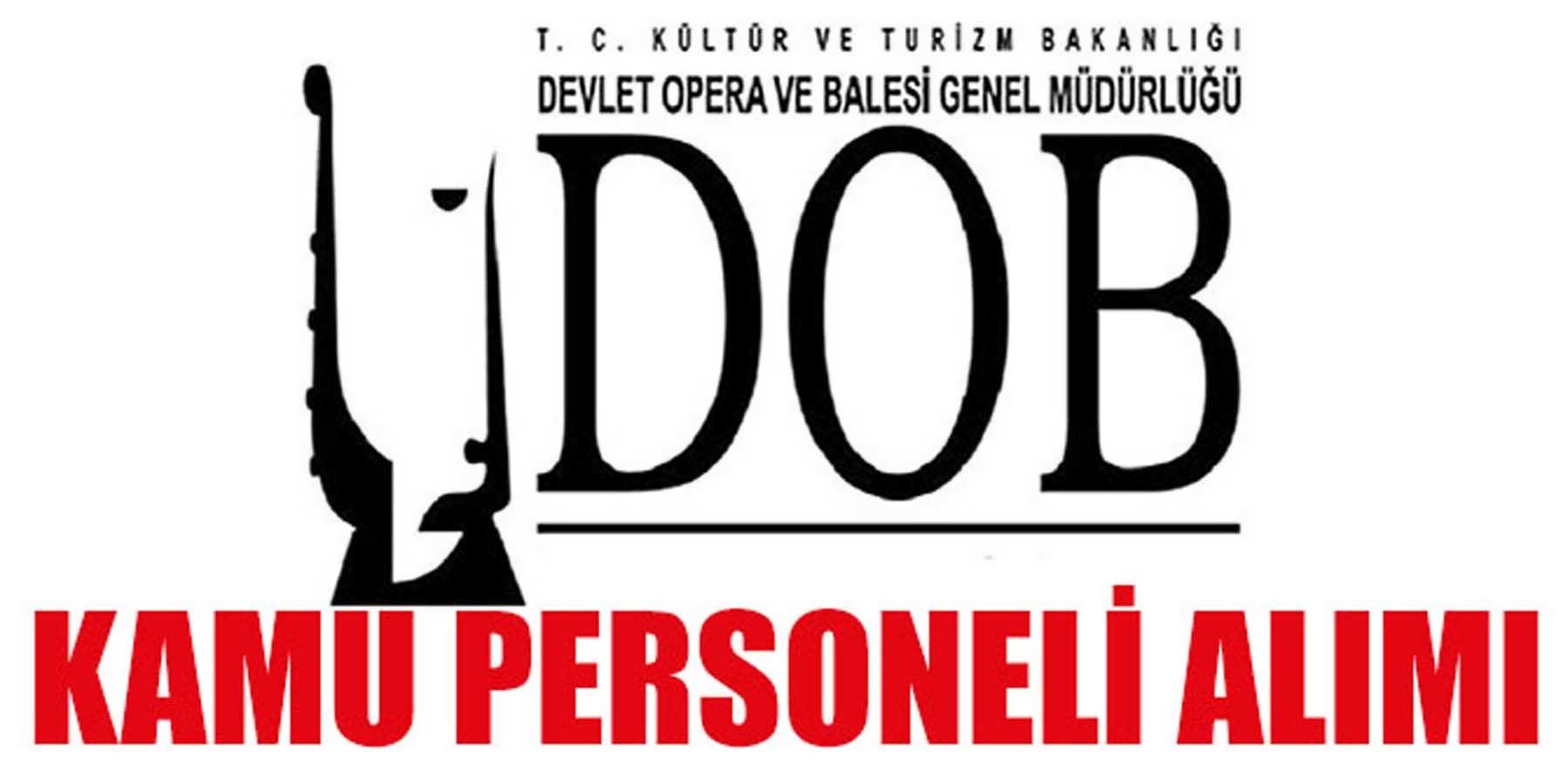 DOB En Az İlkokul Mezun Kamu Personeli Alımı